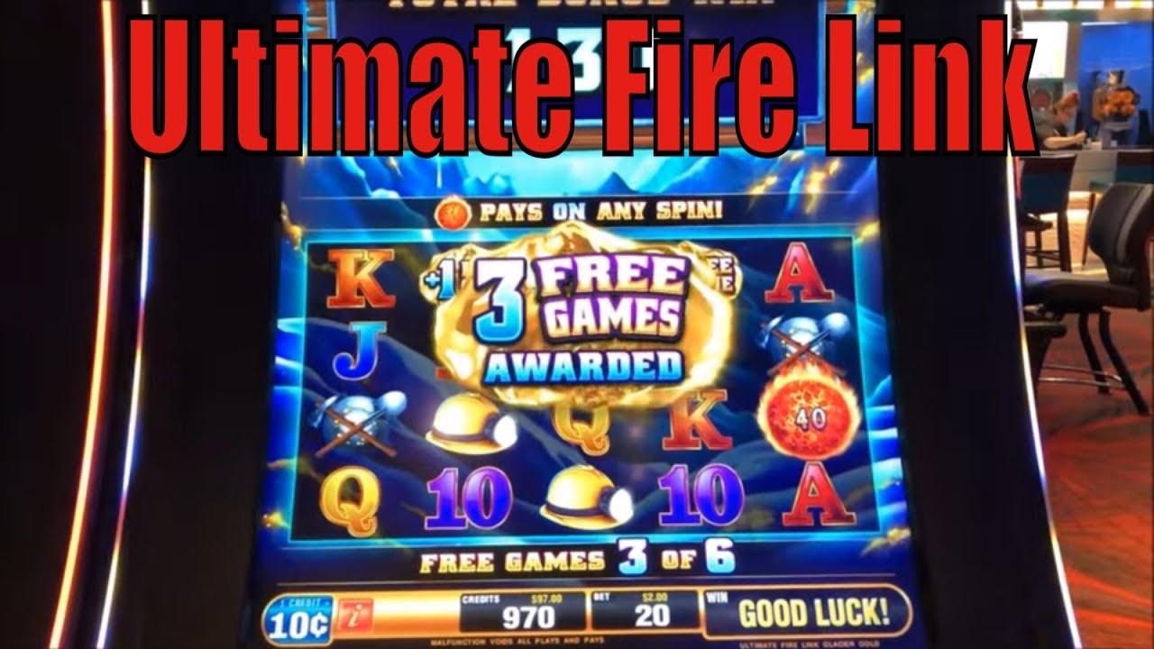 ★Loved It !! SUPER BIG WIN☆New Ultimate Fire Link GLACIER
