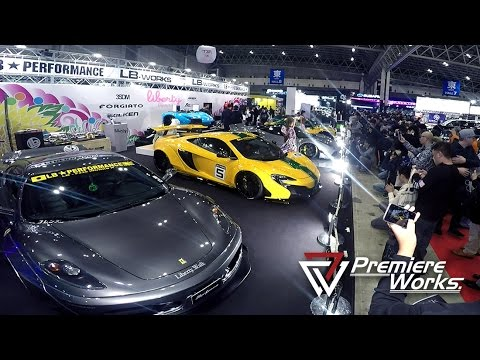 Premiere Works: Liberty Walk x FI Exhaust at Tokyo Auto Salon 2017 (Japan)