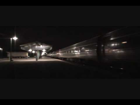 Silver Meteor After Accident: Please Cross Railroad Tracks With Care