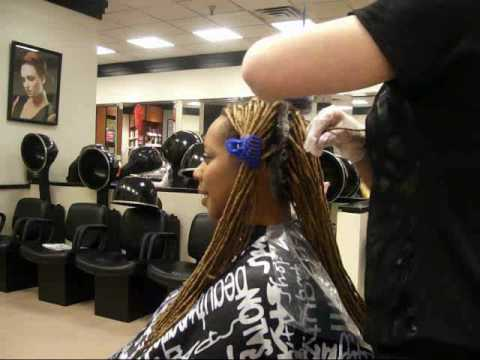 Coloring your dreadlocks start to finish.wmv - YouTube