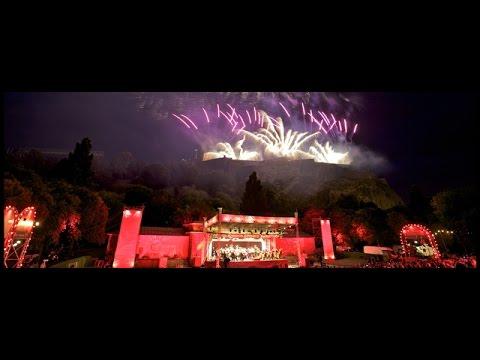 Edinburgh Festival fireworks concert 2015