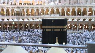 Merdunya suara adzan di Masjid Al-Haram