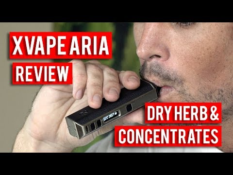 XVAPE ARIA DRY HERB AND CONCENTRATE VAPE REVIEW