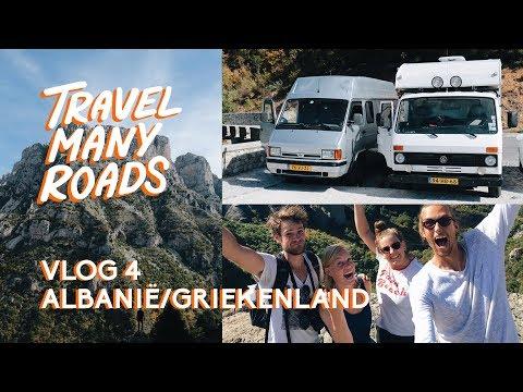 VLOG 4 |  DE DIEPSTE KLOOF TER WERELD - ALBANIË/GRIEKENLAND | TRAVELMANYROADS