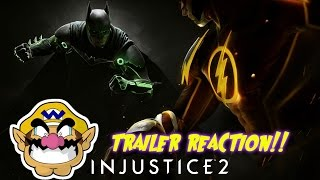 Games and Wario Reacts To: Injustice 2 Announce Trailer Reaction