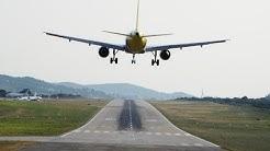 Dangerous landing on Patna airport