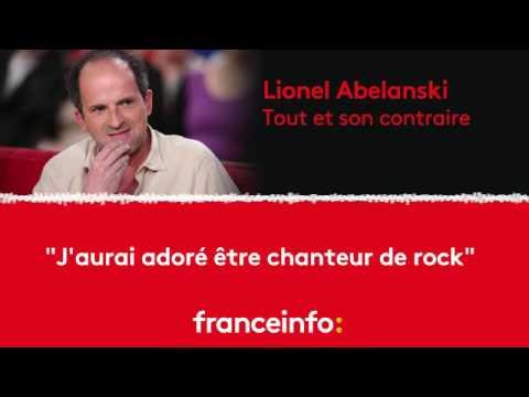 """Lionel Abelanski : """"J'aurai adoré être chanteur de rock"""""""