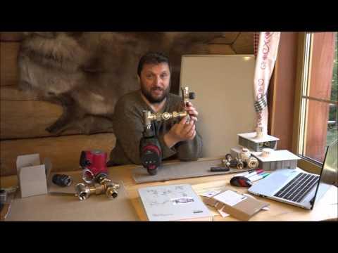 видео: Теплый пол. Регулирование температуры без смесителя. Как это получается.