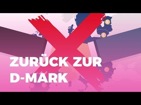 Soll Deutschland zurück zur D-Mark? – verständlich erklärt für WahlSwiper zur Bundestagswahl 2017