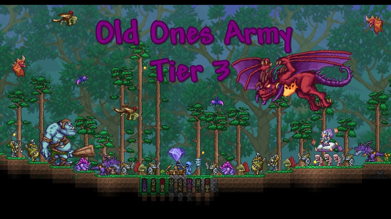 how to get the old ones army spawner on terraria
