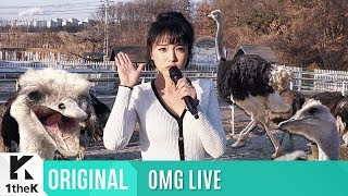 OMG LIVE(無뜬금라이브): HONG JINYOUNG(홍진영) _ GOOD BYE(잘가라)