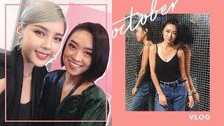 When I Met Pony and Flashed Her My... | October Vlog