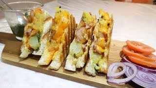 Bombay Toast Sandwich Recipe | Indian Cooking Recipes | Cook with Anisa