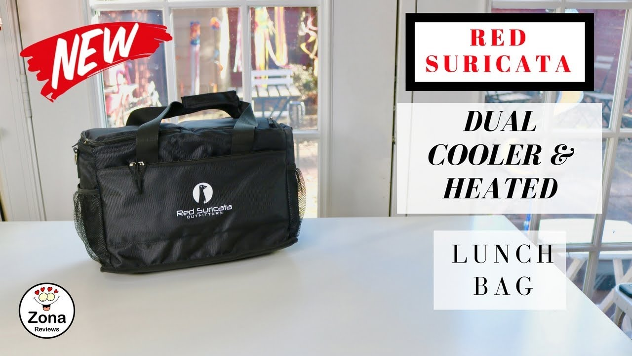 7db4328d79cb 😍 RED SURICATA ❤️ Dual Cooler & Heated Lunch Bag - Review ✅