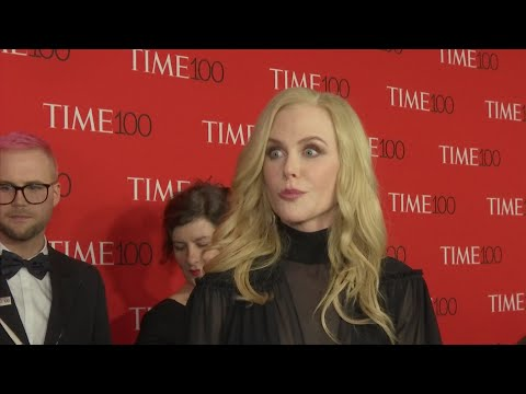 Kidman excited to meet unheralded at Time 100