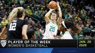 Ducks' Sabrina Ionescu named Pac-12 Women's Basketball Player of the Week