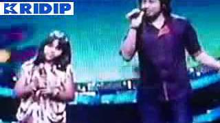 Indian Idol Junior - Singer Papon with Anjana