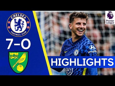 Chelsea Norwich Goals And Highlights