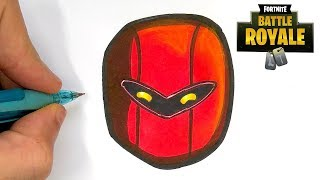 HOW TO DRAW HYBRID SKIN FORTNITE SEASON 8