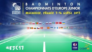 France (Hoyaux) vs Ireland (Frost) - European Jnr. Team C'ships 2017