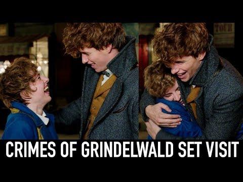 I MET EDDIE REDMAYNE | My Day On Set of Fantastic Beasts: The Crimes of Grindelwald