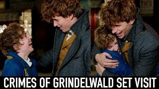 I MET EDDIE REDMAYNE | My Day On Set of Fantastic Beasts: The Crimes of Grindelwald