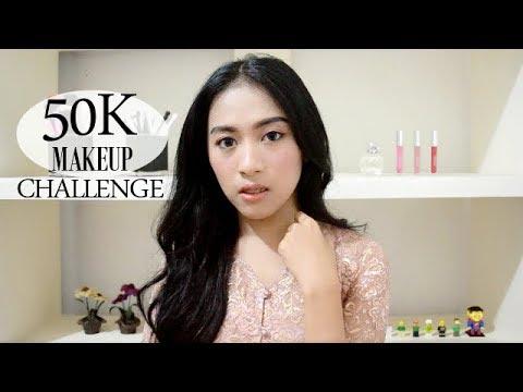 50K MAKEUP CHALLENGE | MAULI HASAN