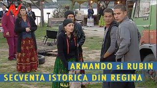 Armando si RUBIN --- Secventa istorica din REGINA --- Lucian si Augustin VIZIRU (secvente  showreel)