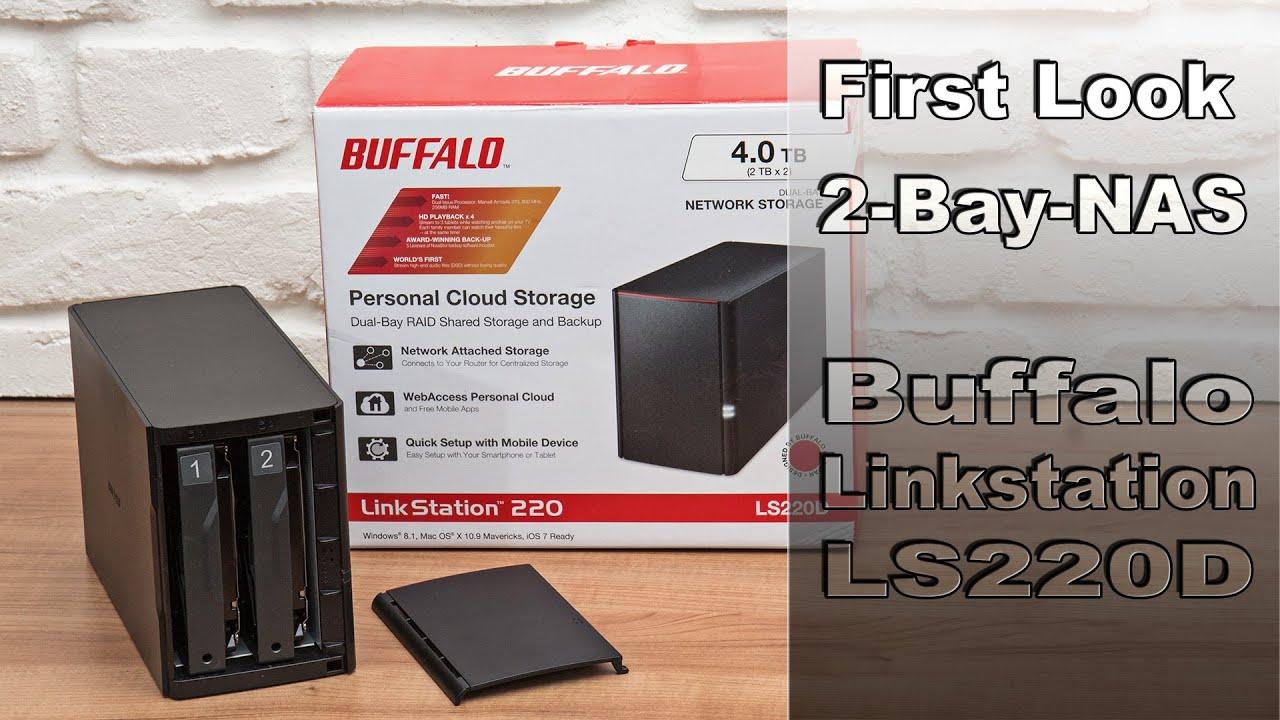 Buffalo LS220D NAS Update