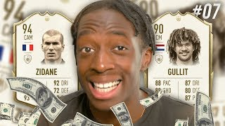WE FINALLY GOT HIM!  BUYING 94 ZIDANE AND 90 GULLIT! - MANNY'S MONEY TEAM #7