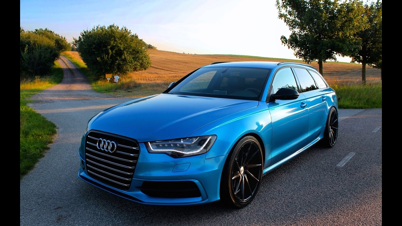 Audi A6 Avant On Black 20x10 5 Quot Vossen Cvt Rims Youtube
