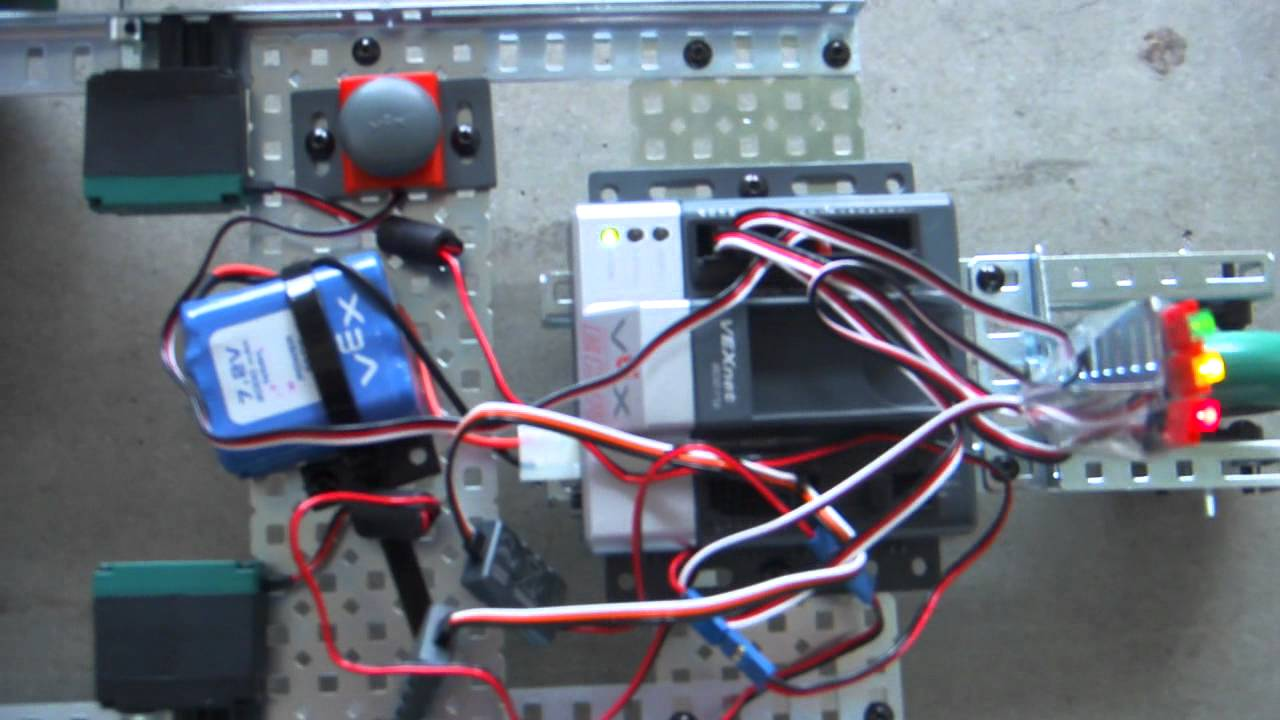Vex Robot Drag Race Youtube