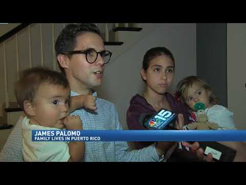 Mobile couple's family dealing with Hurricane Maria in Puerto Rico. NBC 15