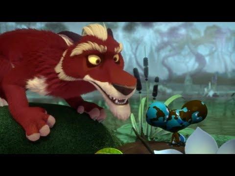 Лео и Тиг - Подарок духа тайги - Серия 14 - Мультфильмы для детей