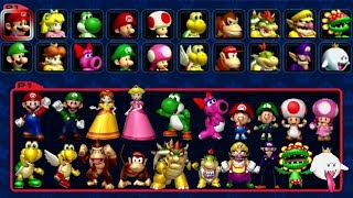 - Mario Kart Double Dash All Characters