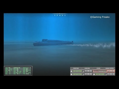COLD WATERS: Udaloy Class Destroyer, Kilo Class and Delta III Class Submarines SUNK