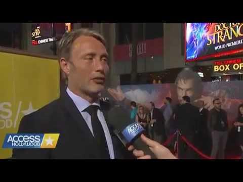 Mads Mikkelsen at the 'Doctor Strange' World Premiere