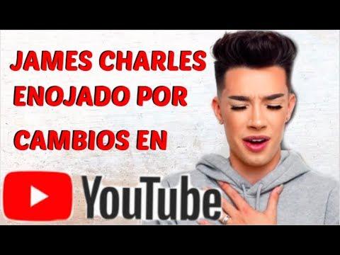 JAMES CHARLE ENFURECE CONTRA YOUTUBE !!! thumbnail