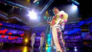 Vanilla Ice slides into the Let's Dance for Sport Relief final