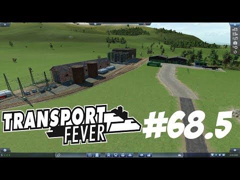 Transport Fever #68.5 - Zwischenfolge. Zeitraffer Ausbau Terminal und Depot