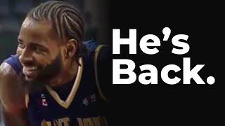 Former MVP Gabe Freeman is Back! | NBL Canada
