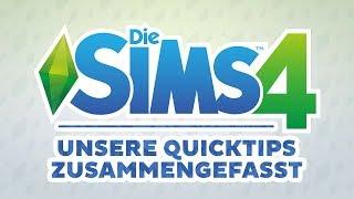 Die Sims 4: Unsere Quicktips zusammengefasst | sims-blog.de