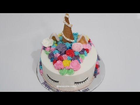 How To Make Birthday Cake My Little Pony Cara Membuat Kue