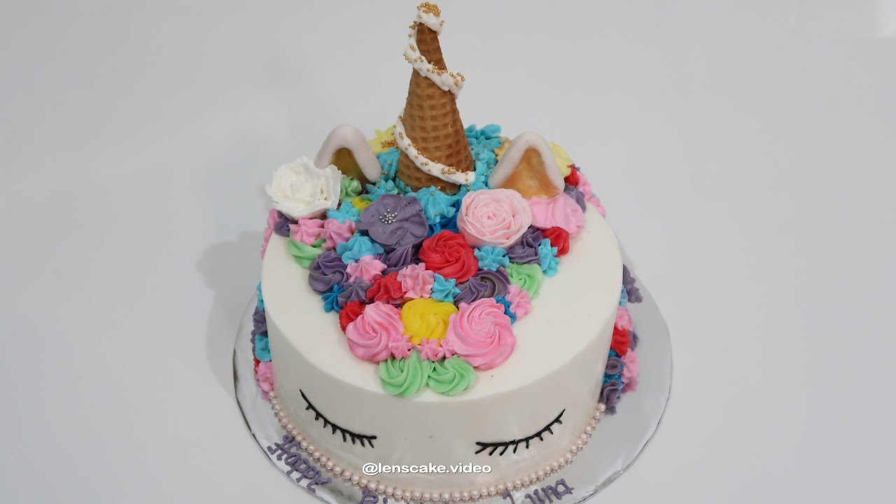 How To Make Birthday Cake My Little Pony Cara Membuat Kue Ulang Tahun Kuda Pony
