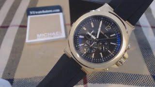 Men's Michael Kors Dylan Black Chronograph Watch MK8445
