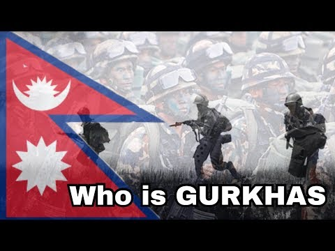 1814 historical war Nepal vs britain which give the bravest example who is gorkhas. Gc boys nepal