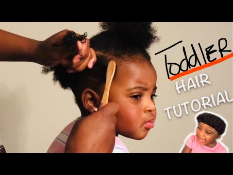 Quick And Easy TODDLER Hairstyle