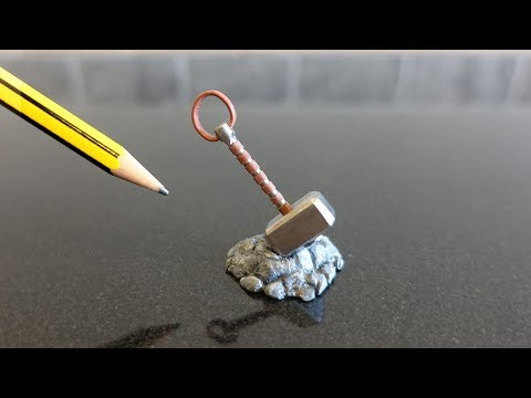 MINI Thors Hammer - Miniature but MIGHTY Weapon
