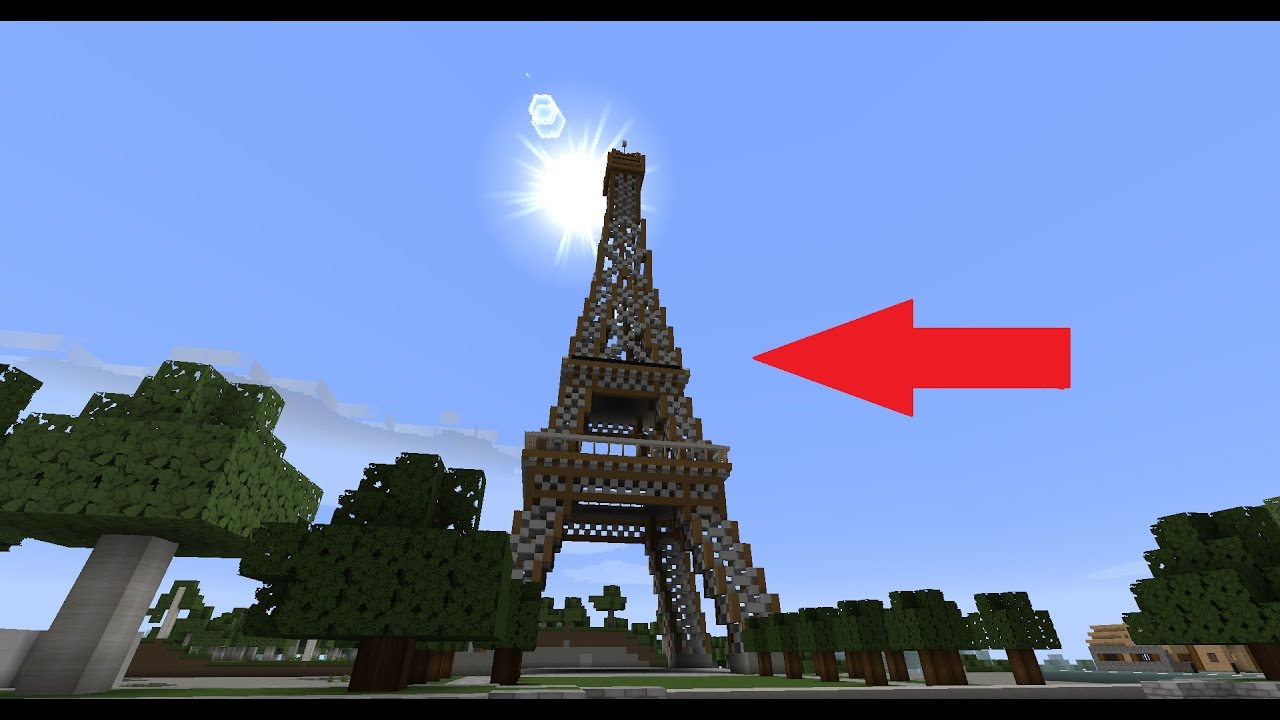 Une incroyable ville moderne sur minecraft youtube - Ville moderne minecraft ...