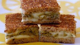 How to Make an Egg Pesto Sandwich Melt for Children
